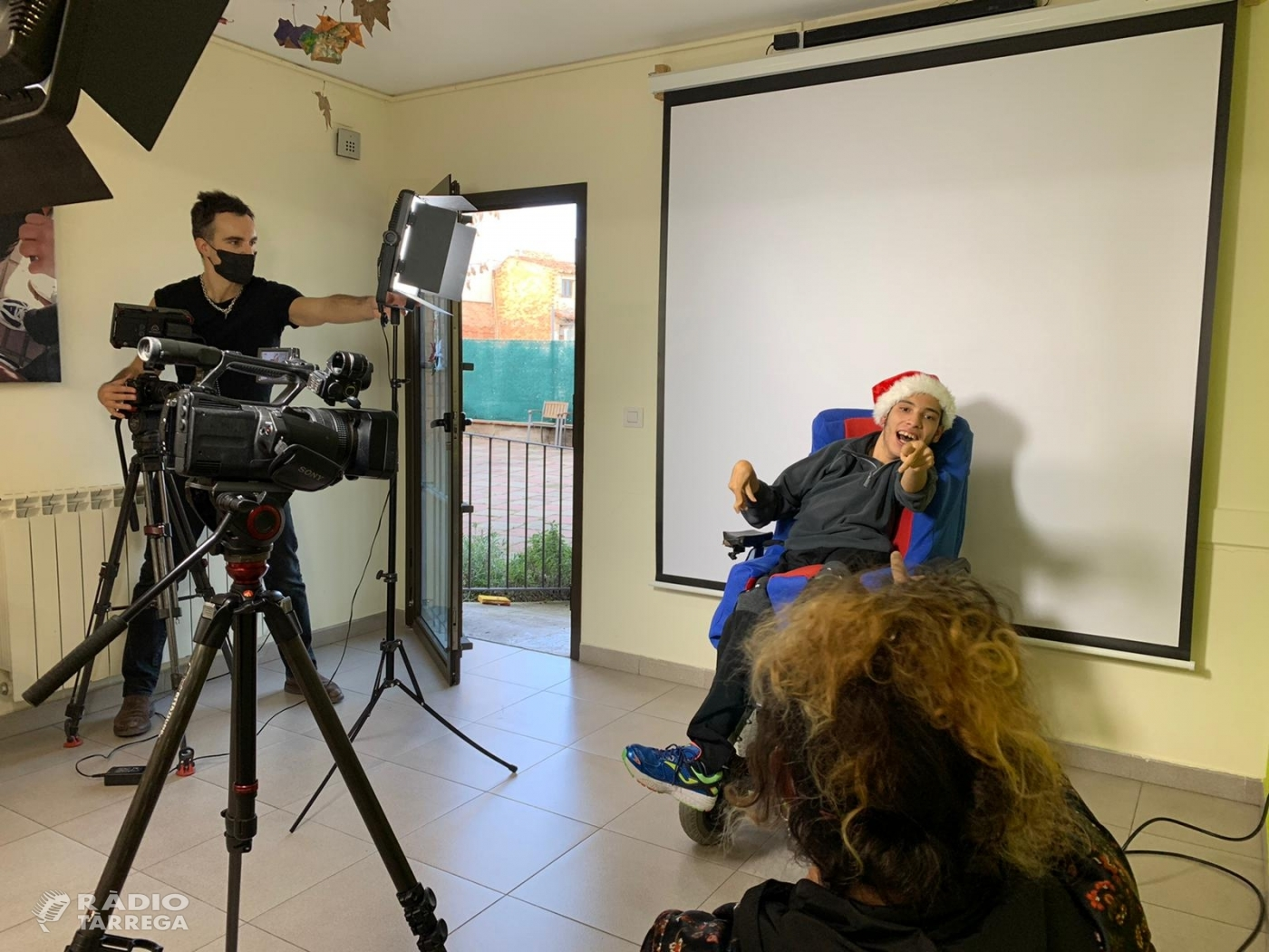 El Grup Alba felicitarà les festes de Nadal amb una cançó amb llengua de signes gravada pel cineasta Xavier Marrades