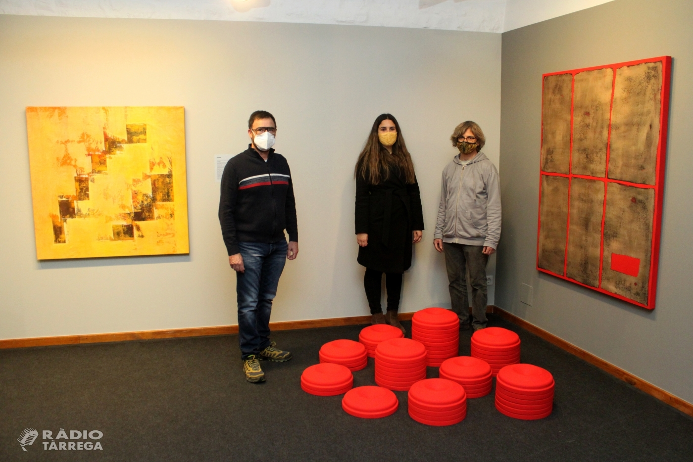 Una vintena d'artistes homenatgen a títol pòstum la galerista Alba Vilamajó mitjançant una mostra col·lectiva al Museu Tàrrega Urgell