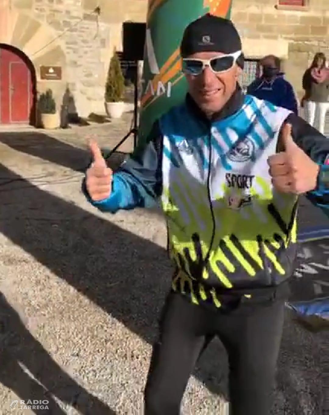 El targarí Raül Arenas aconsegueix el seu quart repte i recull 3.000€ per l'AFANOC