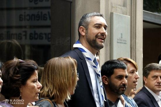 El TSJC jutja aquest dilluns el conseller d'Exteriors, Bernat Solé, per afavorir l'1-O quan era alcalde d'Agramunt