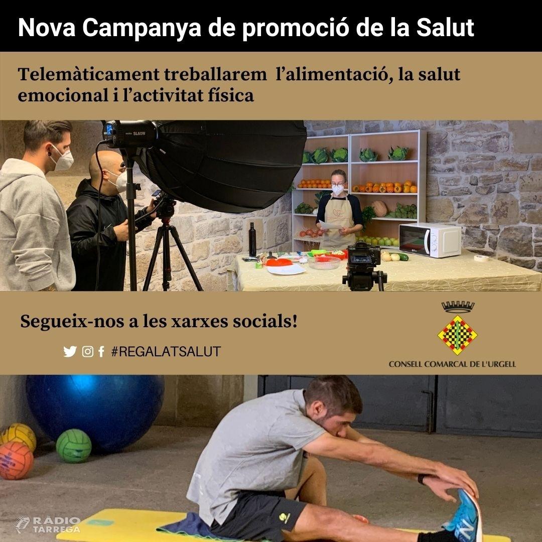 El Consell Comarcal de l'Urgell engega una campanya adreçada a la promoció de la salut