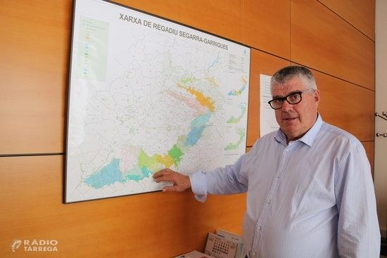Josep Maria Jové, reelegit president de la Comunitat General de Regants del Canal Segarra-Garrigues