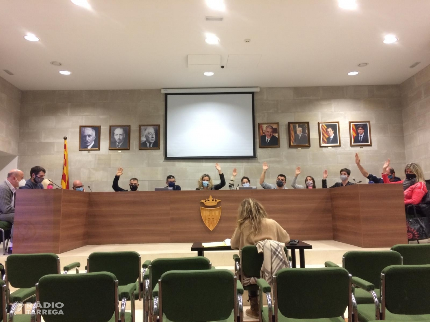 Agramunt aprova els pressupostos municipals per al 2021  Uns comptes marcats per la inversió social i els efectes de la Covid-19