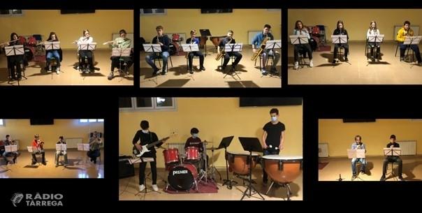 L'Escola Municipal de Música de Tàrrega ofereix online el seu tradicional Concert de Nadal