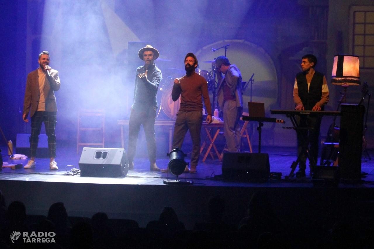 El grup Xiula triomfa al Teatre Ateneu de Tàrrega amb el seu nou espectacle musical per a públic familiar
