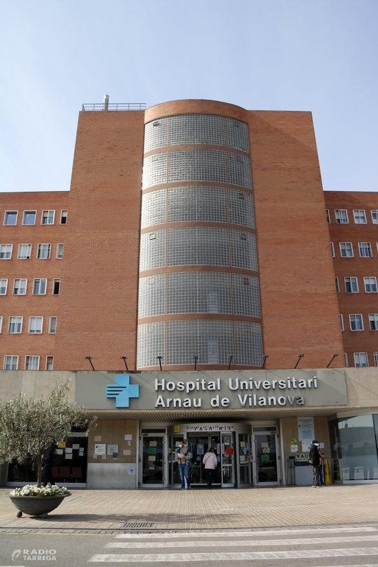Pugen a 150 els ingressats per covid-19 als hospitals de Ponent