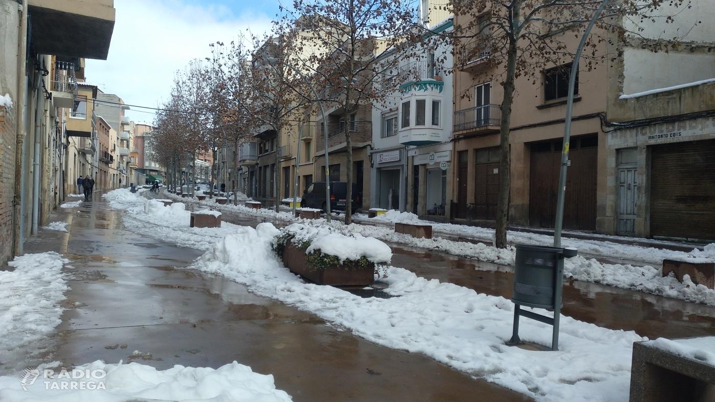 L'episodi de neu generalitzada finalitza donant pas a uns dies de fred molt intens