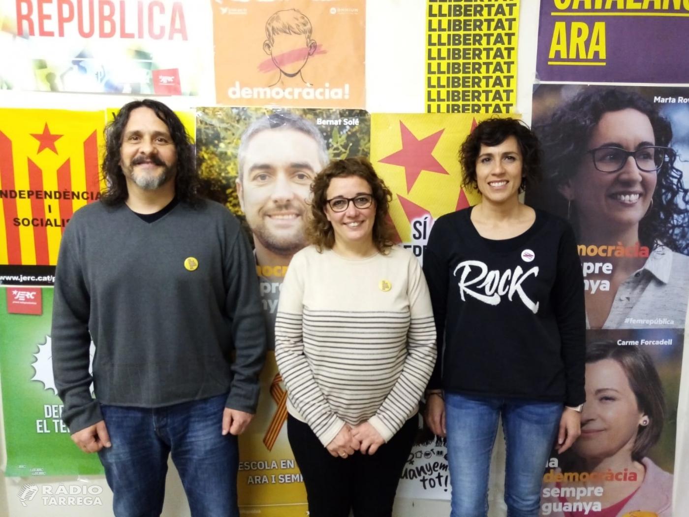 Jordi Estiarte,  nou president de la secció local d'ERC de Bellpuig