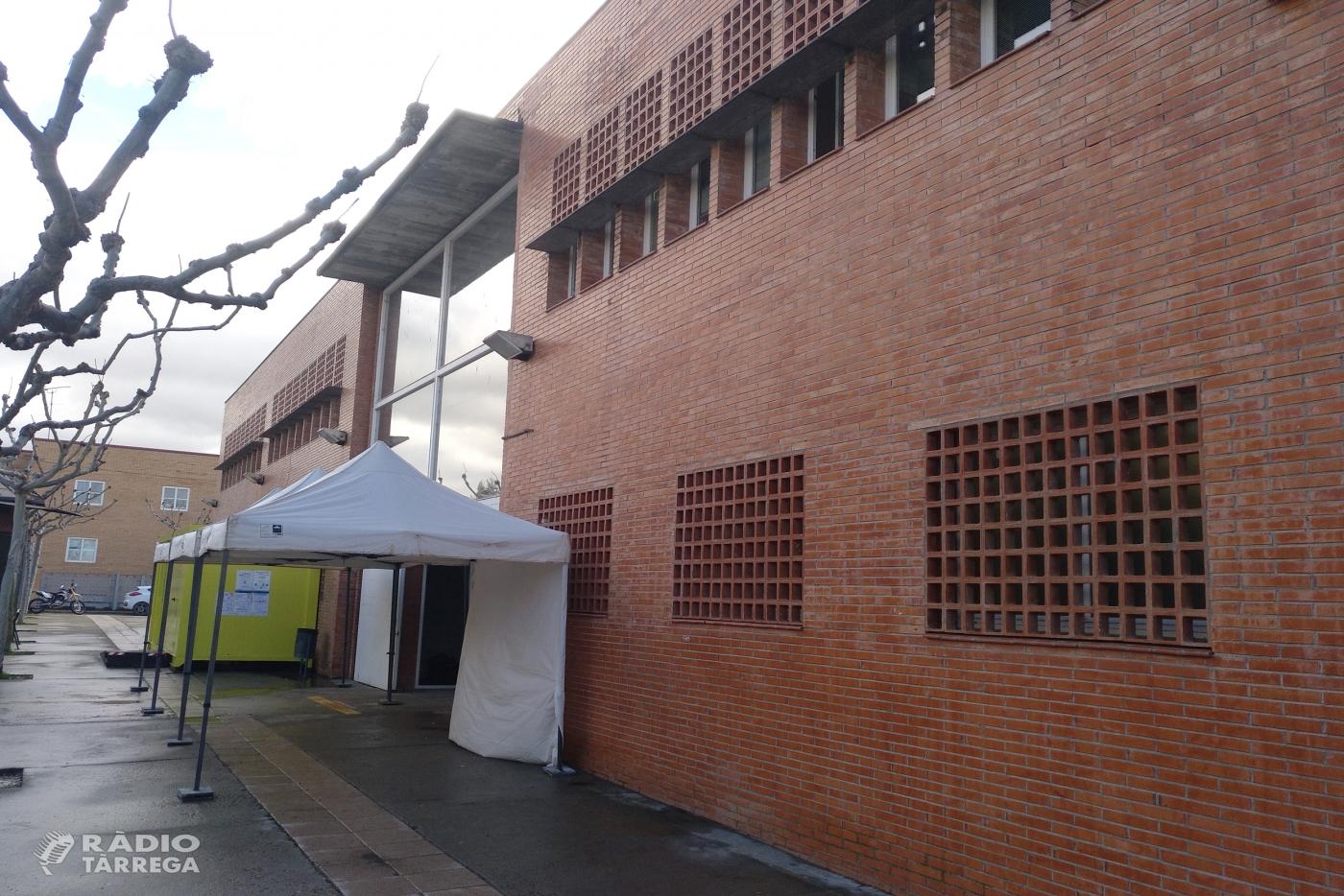 El CAP de Tàrrega inicia els tests ràpids d'antígens als membres que integraran les meses electorals del 14-F al municipi