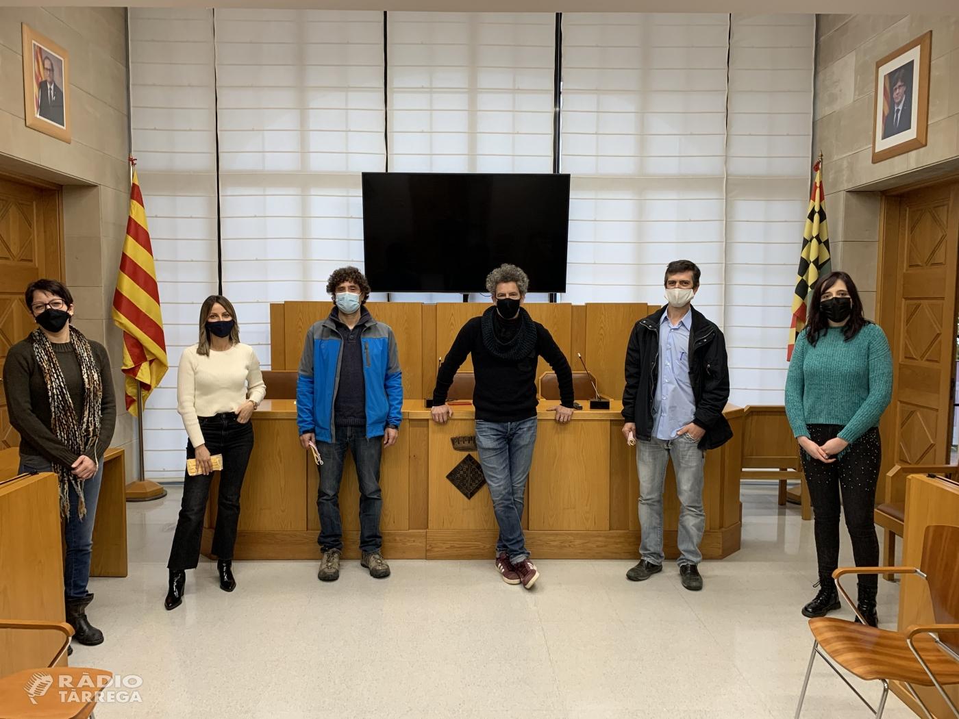 Inici del programa Treball i Formació 2020 impulsat pel Consell Comarcal de l'Urgell