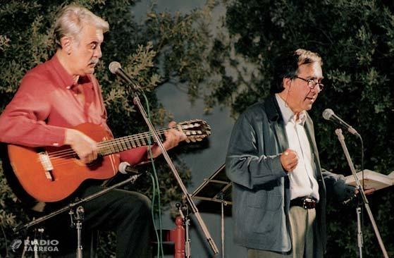 El trobador targarí Xavier Ribalta recorda al poeta segarrenc Joan Margarit