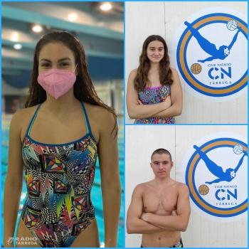 Tres nedadors infantils del Club Natació Tàrrega seleccionats per anar als Campionats d'Espanya d'Hivern a Màlaga