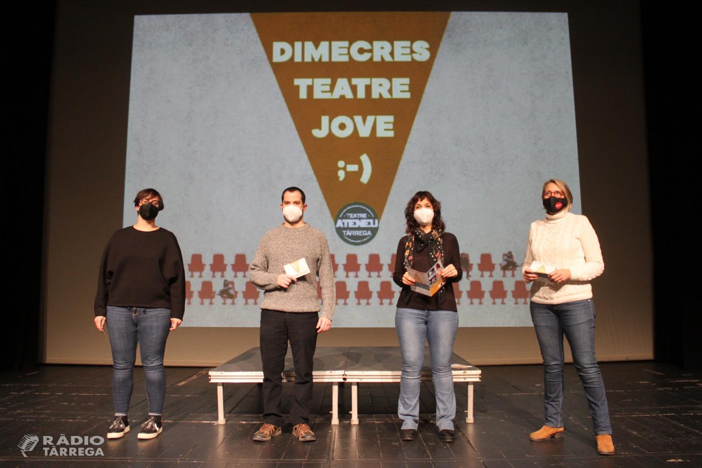 Tàrrega amplia la programació teatral amb dos nous cicles adreçats a públic jove i familiar