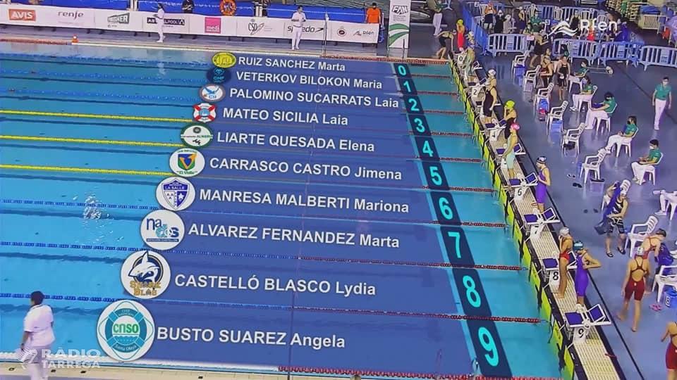 Bons resultats dels tres nedadors del Club Natació Tàrrega que han participat al campionat d'Espanya d'hivern a Màlaga
