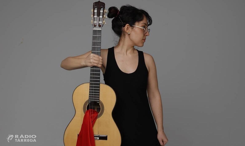 La guitarrista Maria Ribera porta diumenge vinent a Tàrrega el seu concert d'homenatge al mestre Emili Pujol
