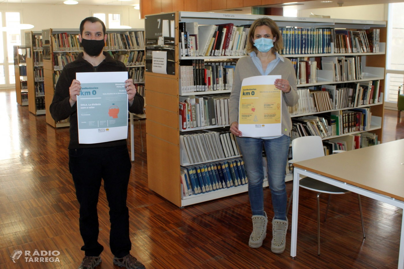 La Biblioteca Pública de Tàrrega - Germanes Güell reprèn dissabte vinent els actes culturals amb públic presencial oferint un nou cicle de conferències