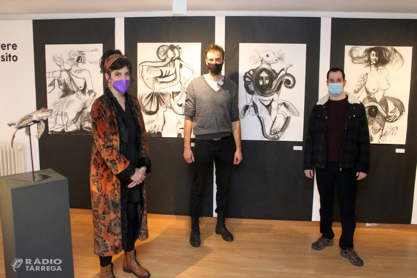 La Sala Marsà de Tàrrega estrena una exposició conjunta amb pintura i escultura de Jordi Claramunt i Cristina Persiani