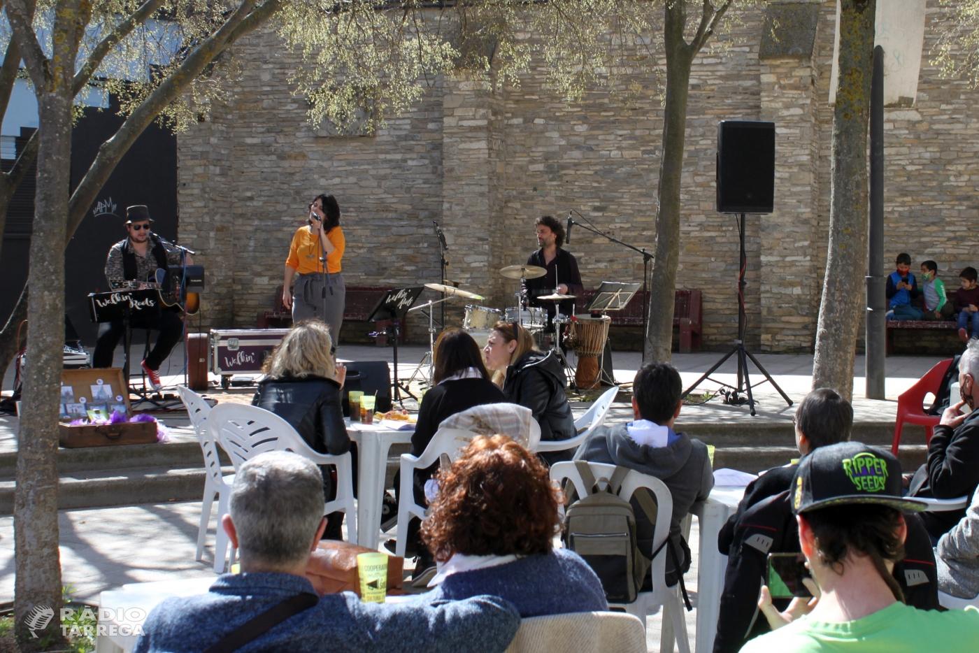 Èxit del concert de Walkin' Roots a Tàrrega amb cançons d'empoderament femení
