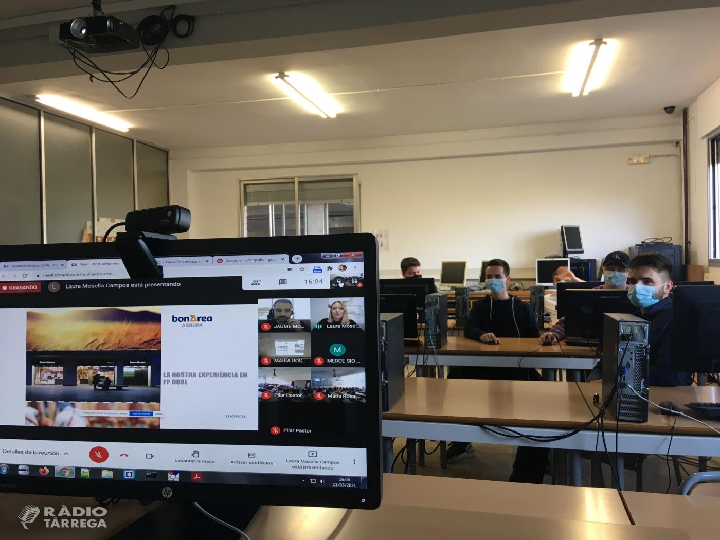 L'Institut Alfons Costafreda de Tàrrega organitza les primeres jornades FP Dual per fomentar l'ocupabilitat