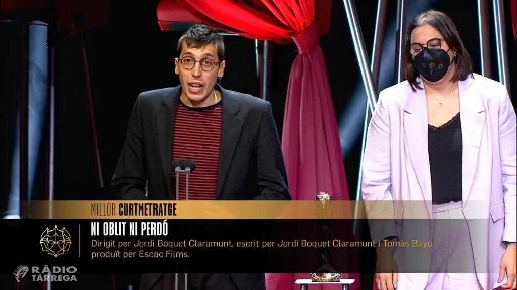 'Ni Oblit Ni Perdó' del cerverí Jordi Boquet, guanyador en la categoria millor curtmetratge als XIII Premis Gaudí