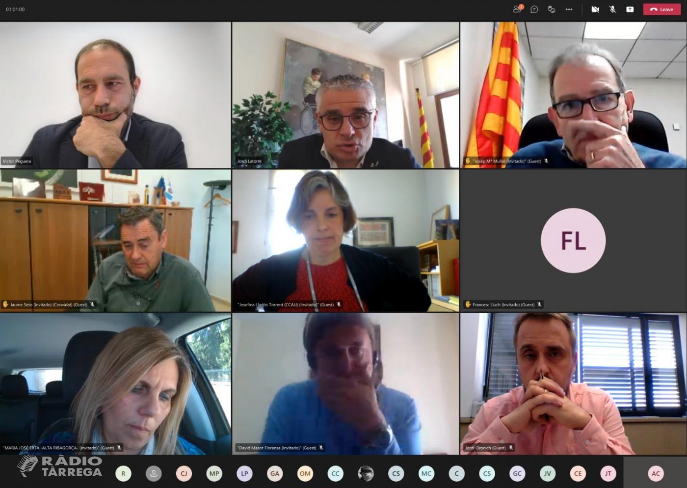 L'Àrea de Cooperació Municipal de la Diputació de Lleida presenta el nou Servei d'Assessorament Municipal als petits ajuntaments