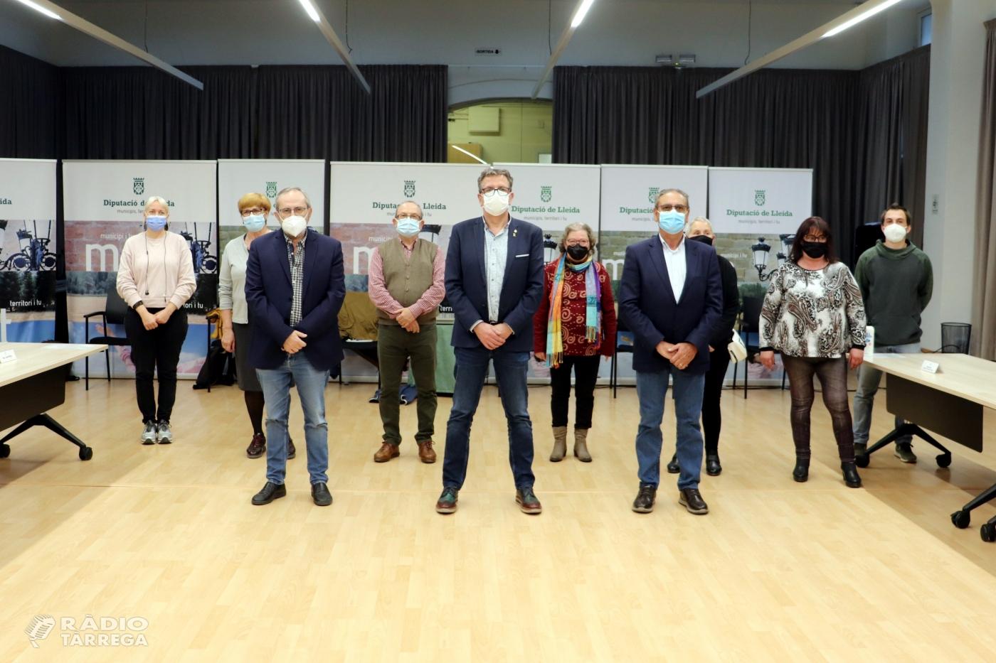La Diputació agrupa en un únic conveni el seu suport a les entitats de salut mental del territori
