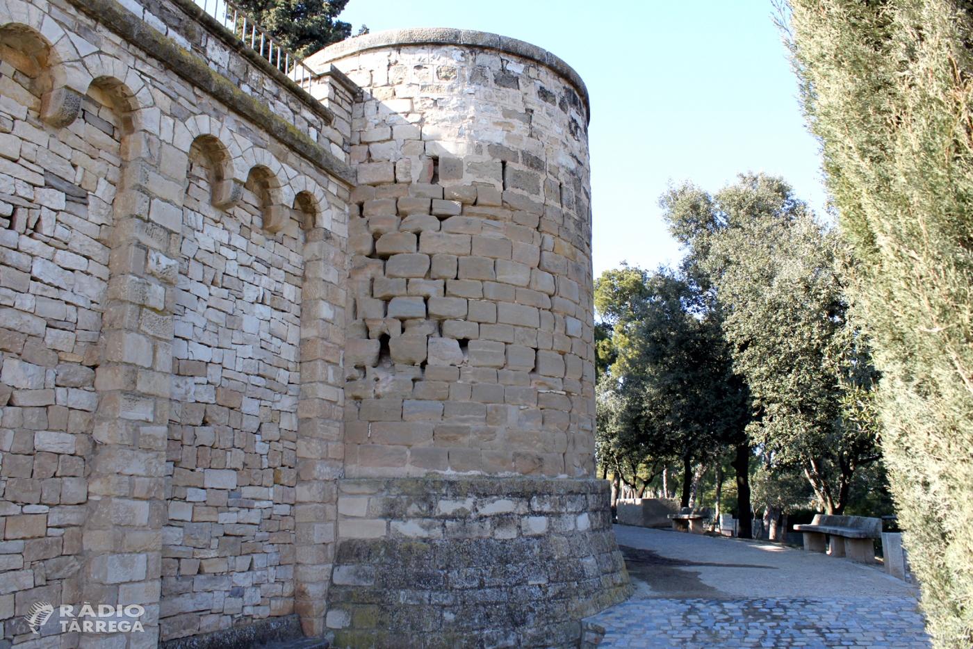 L'Ajuntament de Tàrrega adjudica els treballs de restauració dels tres torricons del Parc de Sant Eloi