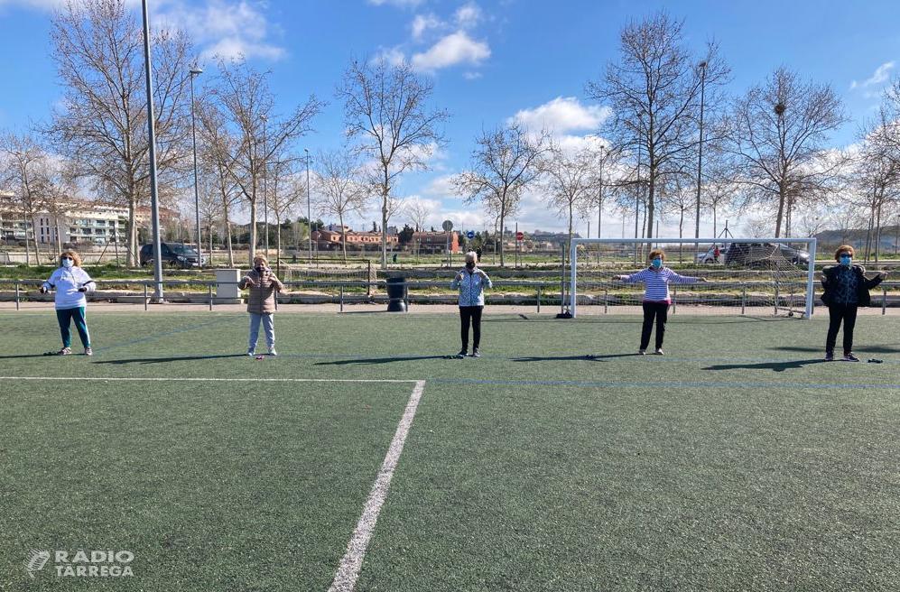 L'Ajuntament de Tàrrega reprèn de forma presencial els seus programes d'hàbits saludables mitjançant l'exercici físic