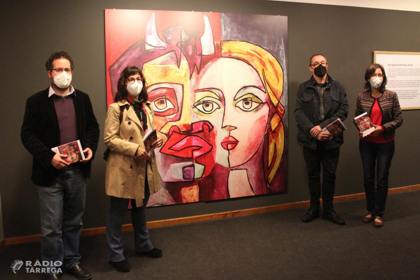 El Museu Tàrrega Urgell exposa els arquetips pictòrics del cubista Palau Ferré