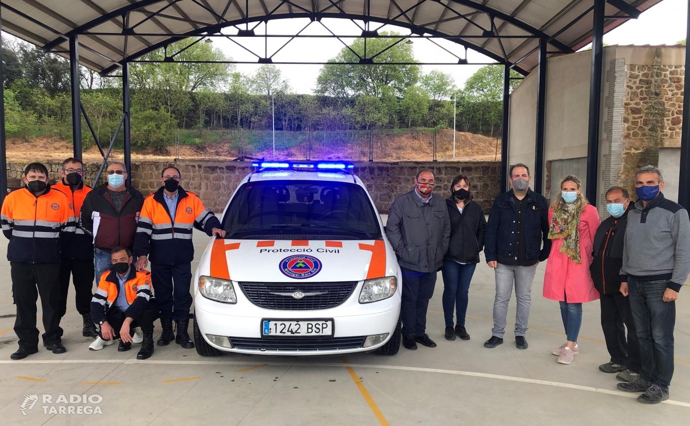 Els ajuntaments d'Agramunt, Bellcaire, Montgai i Penelles adquireixen conjuntament un vehicle de Protecció Civil