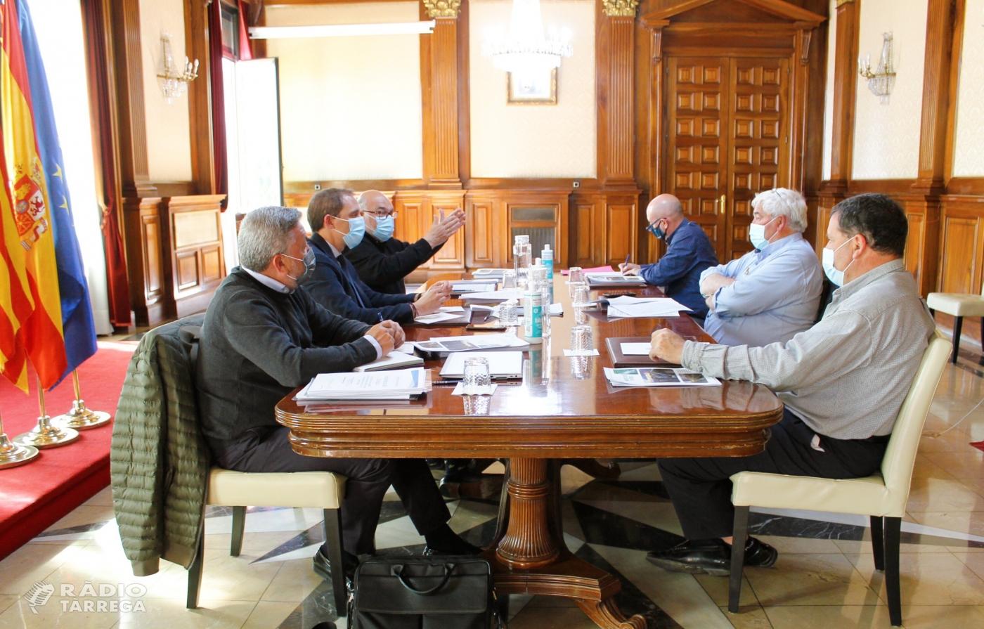 SEIASA es reuneix amb les comunitats de regants de Lleida per analitzar els projectes que opten als fons europeus Next Generation