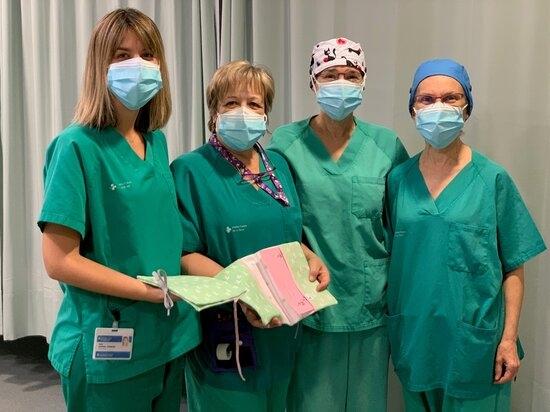 L'equip d'Obstetrícia de l'Hospital Arnau de Vilanova de Lleida engega un projecte solidari amb el dol perinatal