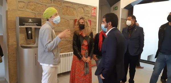 El conseller El Homrani visita les obres d'ampliació de la residència Mas Vell d'Agramunt