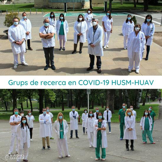 Els hospitals Arnau de Vilanova i Santa Maria de Lleida impulsen més de 50 projectes de recerca centrats en la covid-19