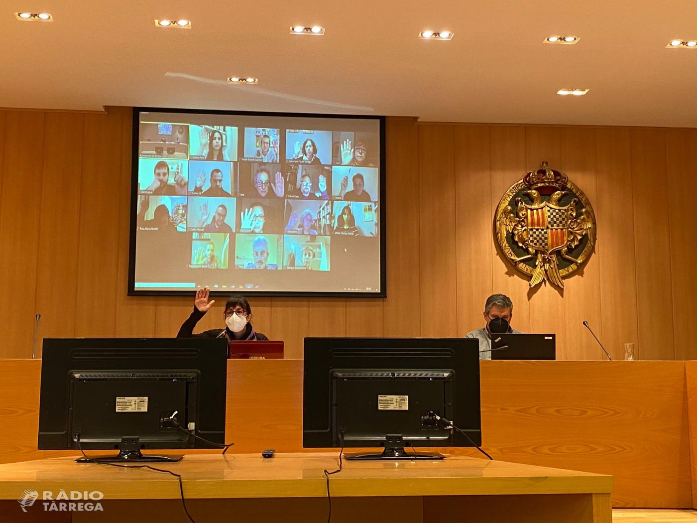 El Ple de l'Ajuntament de Tàrrega aprova les bases per a la Beca d'Estudis Humanístics i Ciències Socials Joaquim Capdevila i Capdevila