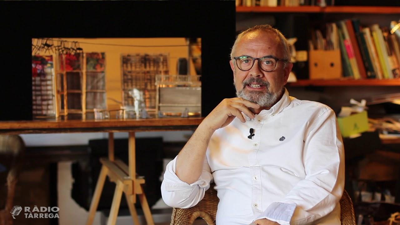 L'escenògraf Llorenç Corbella serà el pregoner de la #FMTàrrega2021 per commemorar la 40a edició de la Fira del Teatre al Carrer de Tàrrega