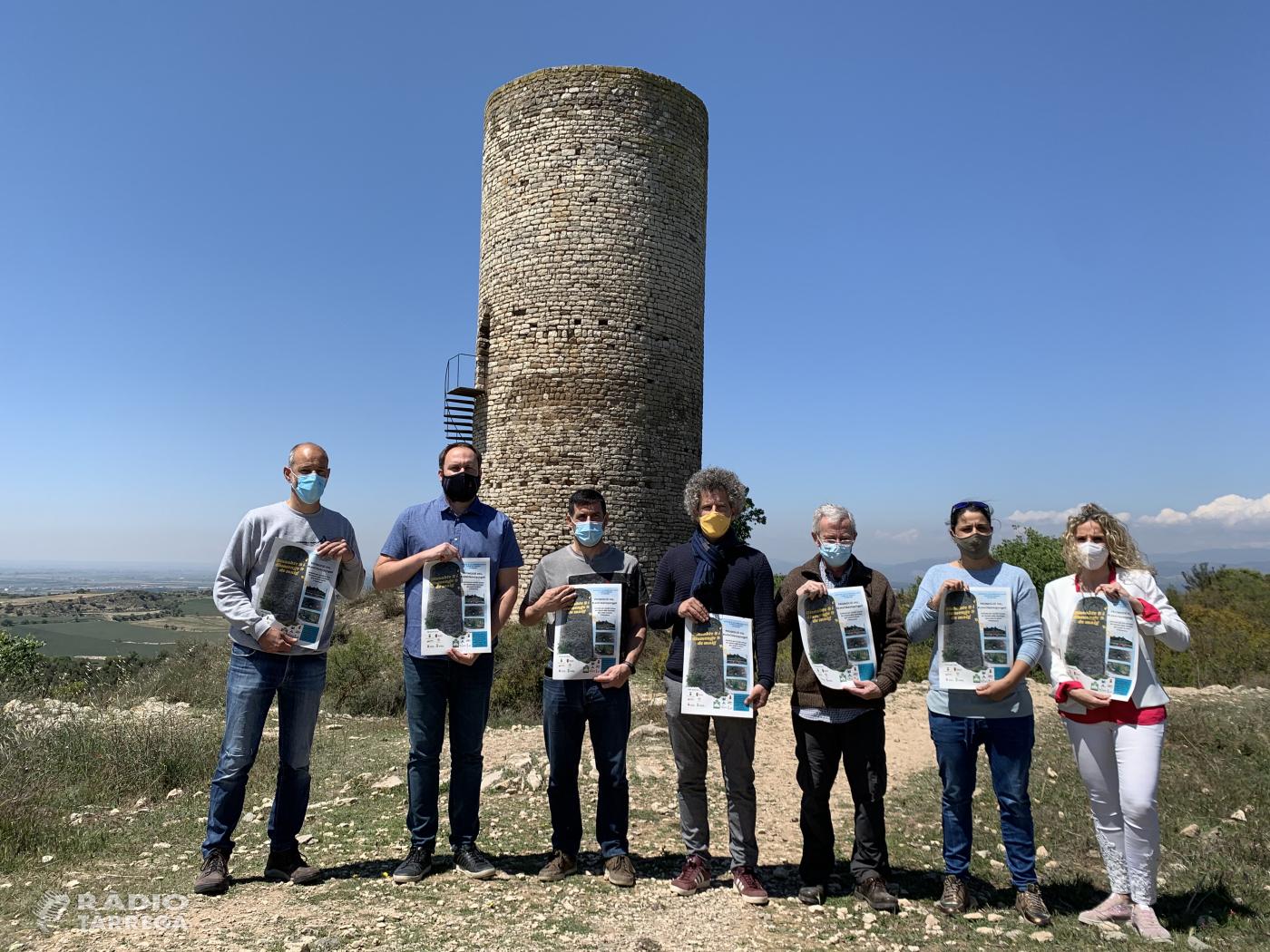 La Serra d'Almenara protagonista del Let's Clean Up Europe a l'Urgell