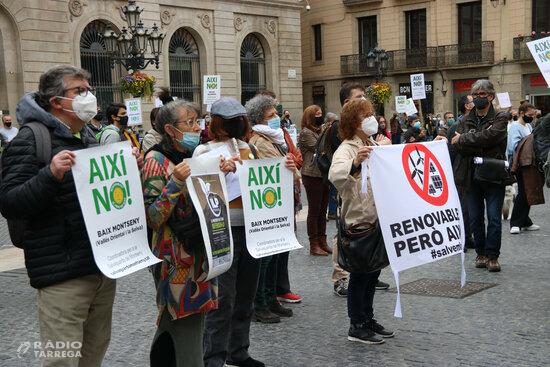 Entitats ecologistes es mobilitzaran el cap de setmana arreu del territori contra les macroinstal·lacions de renovables