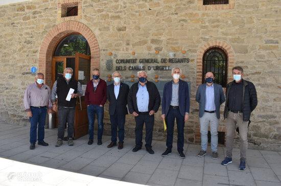 Conveni entre els regants del Canal d'Urgell i l'IRTA per la modernització i recuperació mediambiental