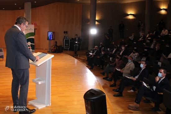 La Diputació de Lleida presenta vuit projectes que suposaran una inversió de 500 MEUR i 6.000 llocs de treball