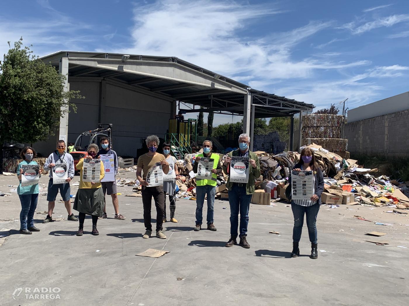 Nova campanya 'STOP residus' a Tàrrega