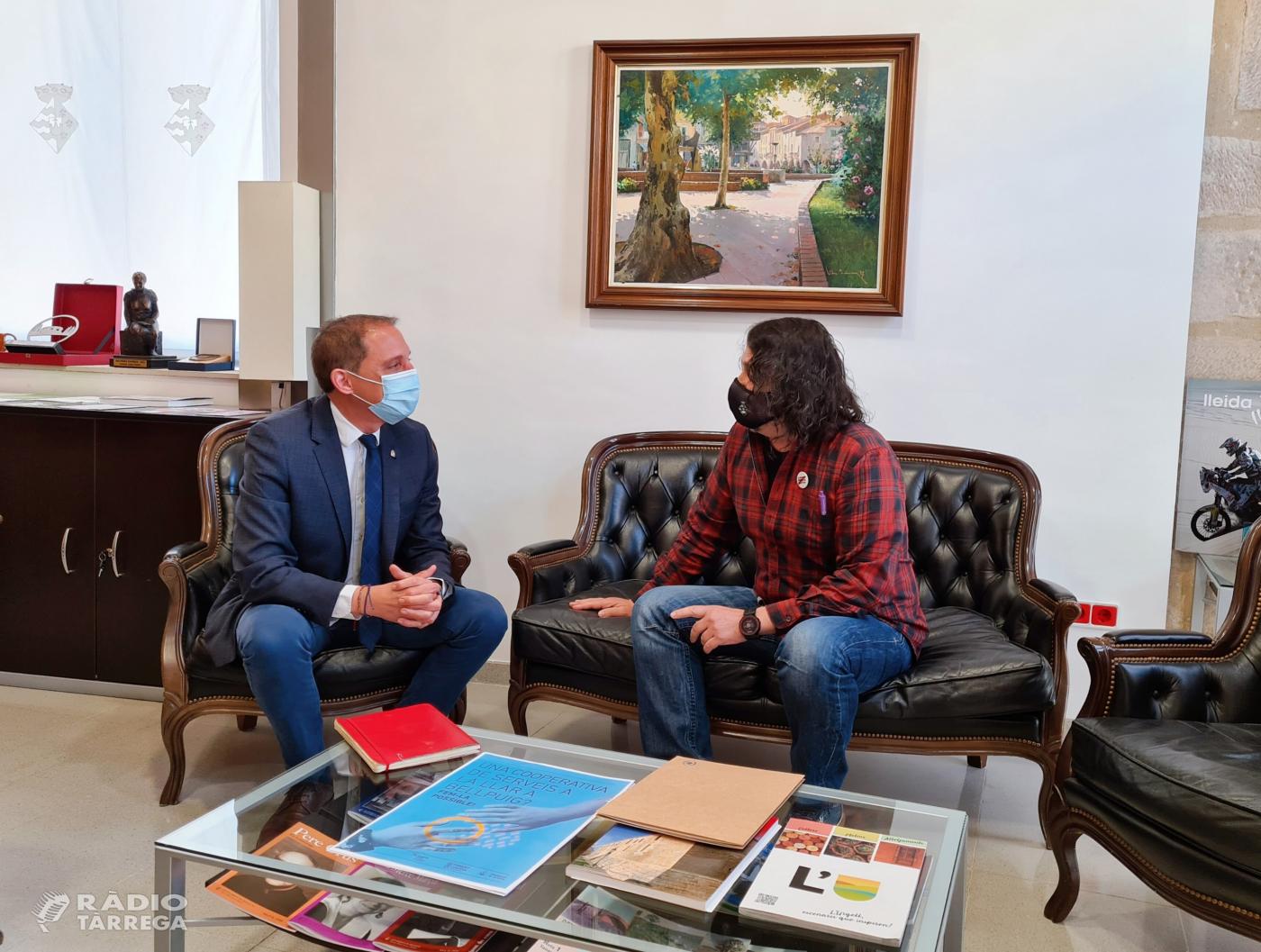 El subdelegat del Govern a Lleida José Crespín visita l'Urgell