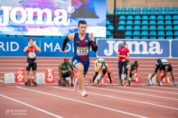 L'atleta de Tàrrega Arnau Monné classificat per al Campionat d'Europa