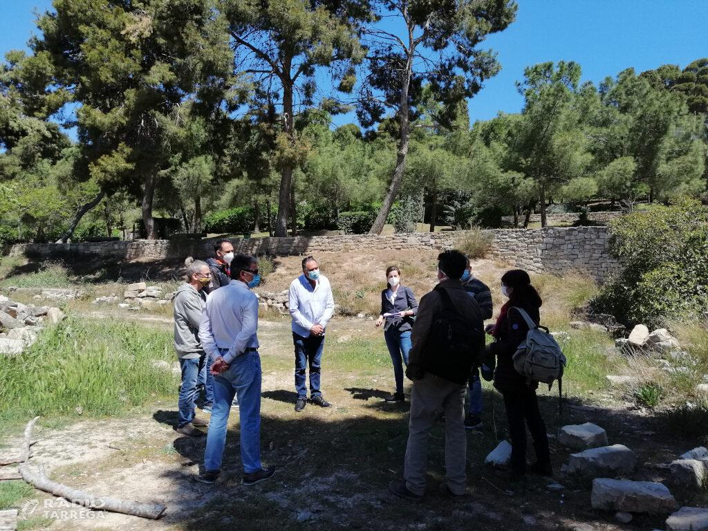 La Diputació de Lleida comença les obres d'adequació de la plaça de la Bassa al Parc de Sant Eloi de Tàrrega