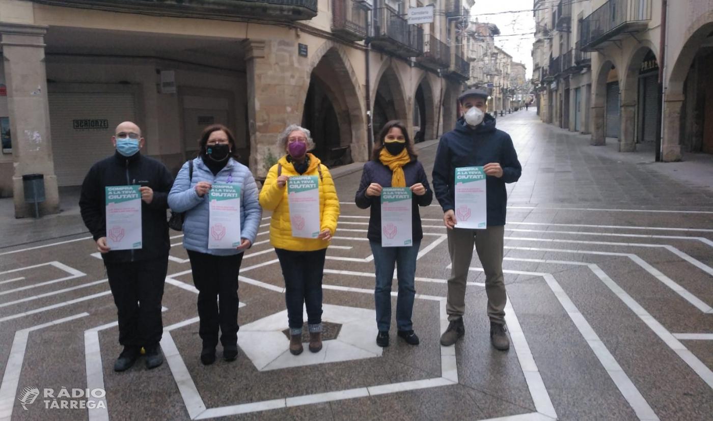 Junts per Tàrrega torna a reclamar ajuts directes als negocis afectats per la COVID-19