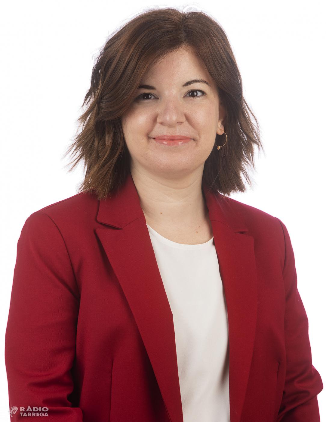 La targarina Sara Bailac serà la nova portaveu adjunta d'Esquerra Republicana de Catalunya al Senat
