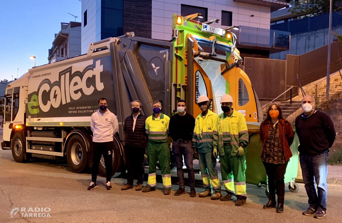 'eCollect',  zero emissions durant la recollida de residus