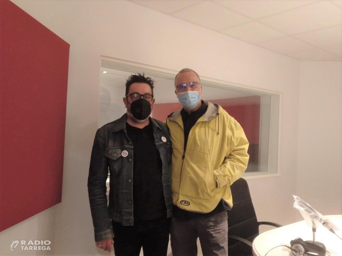 El grup Perifèrics presenta a Ràdio Tàrrega el seu últim EP 'No tinc ni cinc'