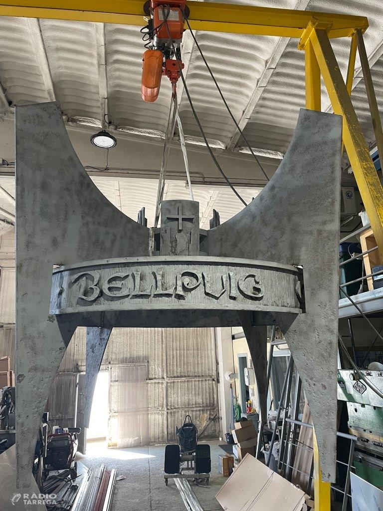 Bellpuig restaura el monument de la ciutat pubilla de la sardana