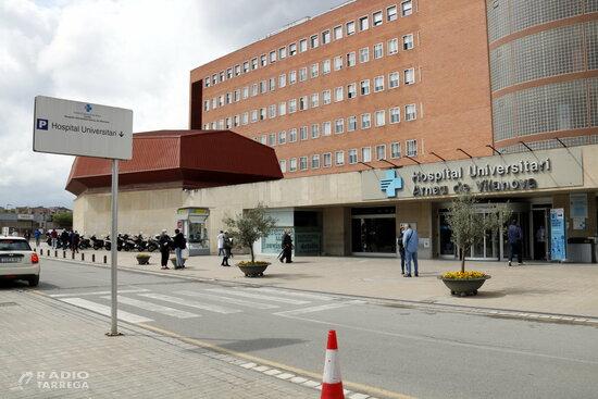 Els ingressos per covid-19 als hospitals de Ponent cauen per sota del mig centenar